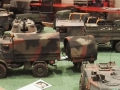 Modellbau SWH in Neumünster 2017 - Militär Unimog mit Anhänger