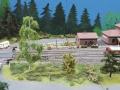 Modellbau SWH in Neumünster 2017 - Eisenbahn Landschaft Bahnübergang