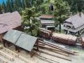 Modellbau SWH in Neumünster 2017 - Eisenbahn Landschaft Sägewerk