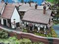 Modellbau SWH in Neumünster 2017 - Eisenbahn Landschaft Dorf nah