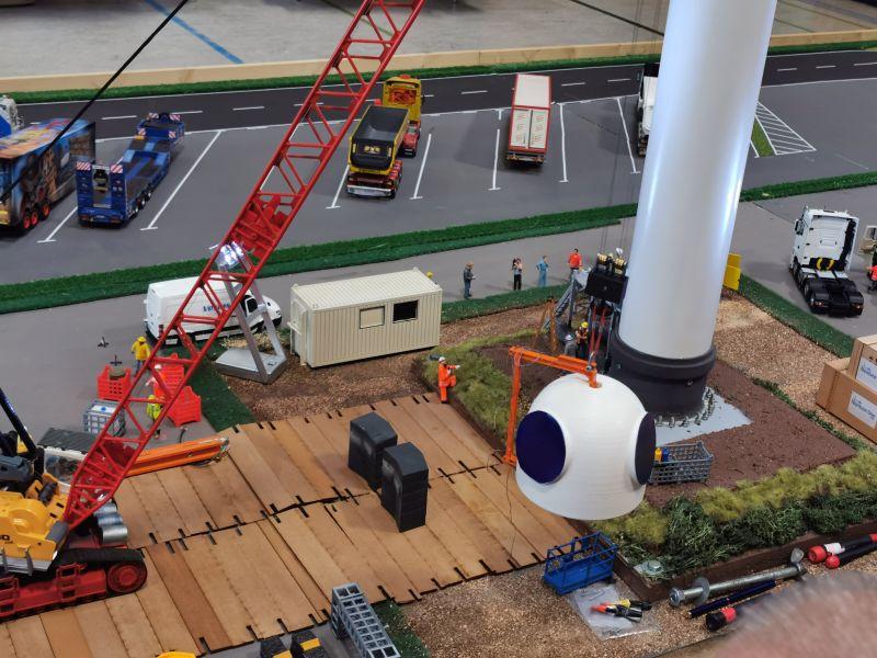 Modellbahn Ausstellung Bad Oldesloe Siku Control Windkraftanlage 2019 004