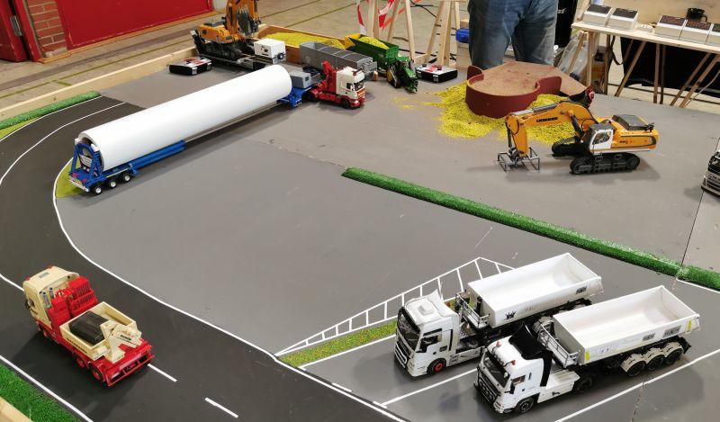 Modellbahn Ausstellung Bad Oldesloe Siku Control Windkraftanlage 2019 034