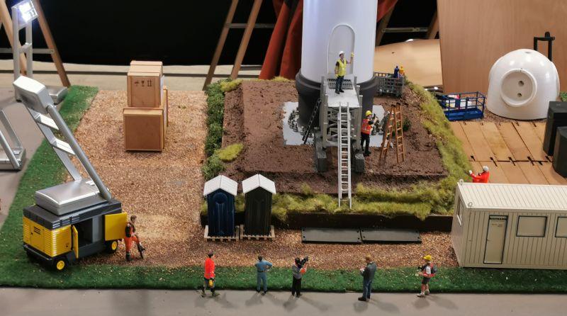 Modellbahn Ausstellung Bad Oldesloe Siku Control Windkraftanlage 2019 035