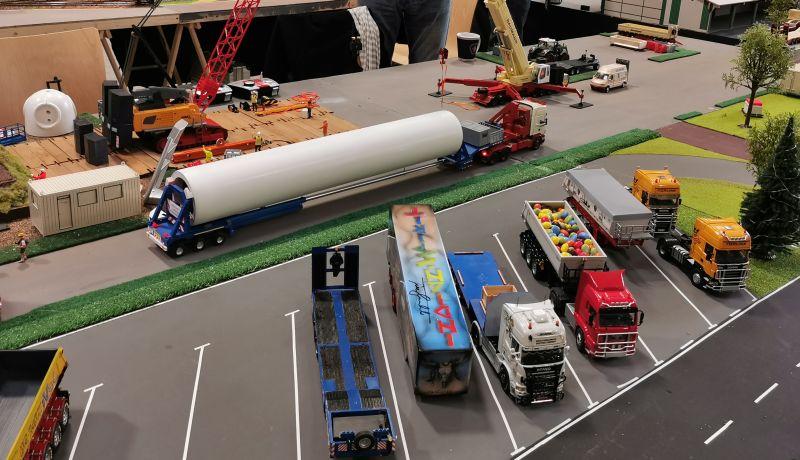 Modellbahn Ausstellung Bad Oldesloe Siku Control Windkraftanlage 2019 039