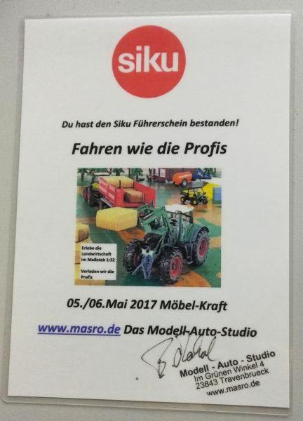 Möbel Kraft 2017 - Siku Führerschein