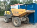 Dumper Wacker Neuson 5001 - Vorne Links