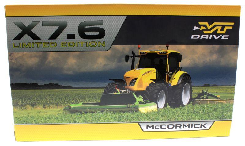 Replicagri REP156 - McCormick X7670 gelb Limited Edition Karton hinten