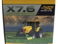 Replicagri REP156 - McCormick X7670 gelb Limited Edition Karton Seite