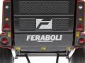 ROS 60113 - Feraboli Extreme 265 Rundballenpresse hinten nah