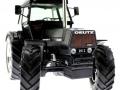 Schuco 450768600 - Deutz Powermatic DX230 Limted Edition Schwarz vorne nah