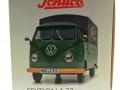 schuco 450785600 - Volkswagen T1b Pritsche Fendt Dieselross Schlepper Karton Seite