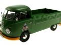 schuco 450785600 - Volkswagen T1b Pritsche Fendt Dieselross Schlepper ohne Plane vorne