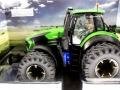 Schuco 7769 - Deutz-Fahr 9340 Agrotron TTV Doppelreifen Diorama