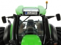 Schuco 7769 - Deutz-Fahr 9340 Agrotron TTV Doppelreifen Kennzeichen vorne