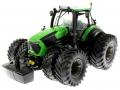 Schuco 7769 - Deutz-Fahr 9340 Agrotron TTV Doppelreifen vorne links