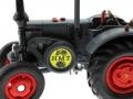 Siku 1001 - Lanz Bulldog met aanhanger - HMT Festival Logo