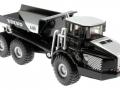 Siku 1822 Black - Set Baustellenfahrzeuge Blackline Volvo A40D