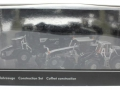 Siku 1822 Black - Set Baustellenfahrzeuge Blackline Karton vorne
