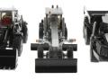 Siku 1822 Black - Set Baustellenfahrzeuge Blackline vorne