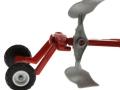 Siku 1956 - Wendepflug Rad-Aufhängung