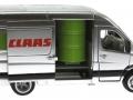 Siku 1995 - Claas Servicefahrzeug beladen