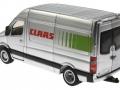 Siku 1995 - Claas Servicefahrzeug hinten links