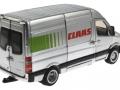Siku 1995 - Claas Servicefahrzeug hinten rechts