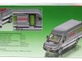Siku 1995 - Claas Servicefahrzeug Karton hinten