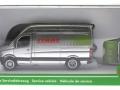 Siku 1995 - Claas Servicefahrzeug Karton vorne