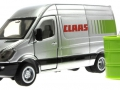 Siku 1995 - Claas Servicefahrzeug unten vorne links