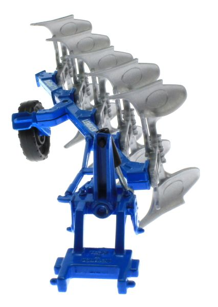 Siku 2051 - Volldrehpflug Lemken EurOpal 7x Blau vorne