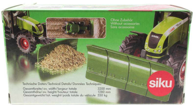 Siku 2055 - Planierschild Karton hinten