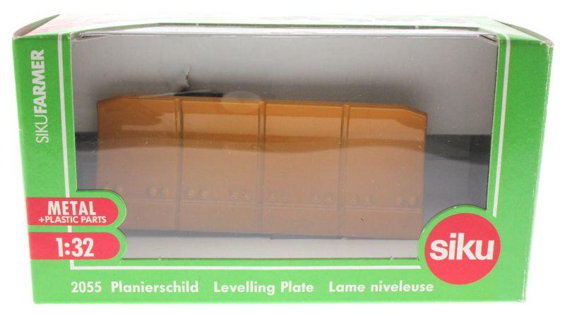 Siku 2055 - Planierschild Karton vorne