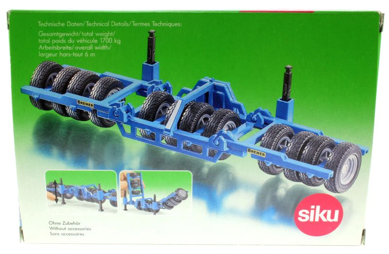 Siku 2059 - Front-Reifenpacker Bremer Karton hinten