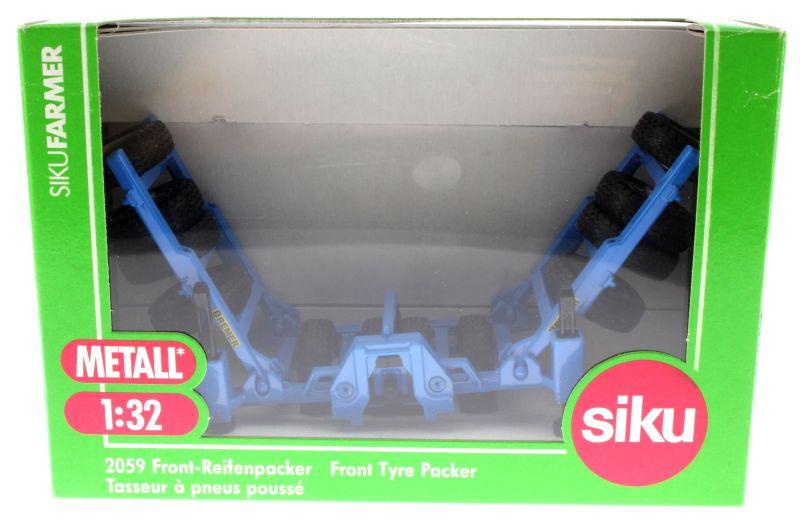 Siku 2059 - Front-Reifenpacker Bremer Karton vorne