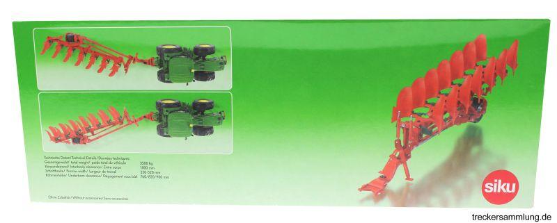 Siku 2064 - Vogel und Noot Aufsattel-Drehpflug Karton hinten