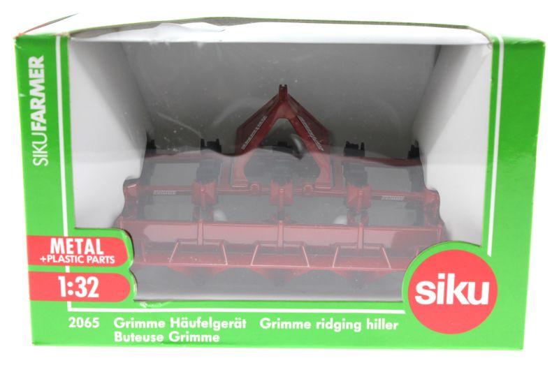 Siku 2065 - Grimme Häufelgerät Karton vorne