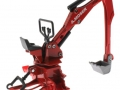 Siku 2066 - Heckbagger für Traktoren A.Moser vorne links