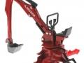 Siku 2066 - Heckbagger für Traktoren A.Moser vorne rechts