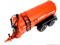 Siku 2270 Fasswagen Abbey Orange Vorne links