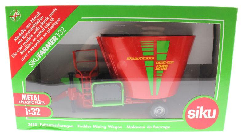 Siku 2450 - Futtermischwagen Karton vorne