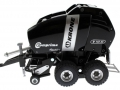 Siku 2460 Blackline - Rundballenpresse Comprima V150XC Sondermodell Agritechnica 2009 links