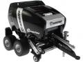 Siku 2460 Blackline - Rundballenpresse Comprima V150XC Sondermodell Agritechnica 2009 vorne rechts