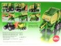 Siku 2460 - Rundballenpresse Krone Comprima V150XC Karton hinten