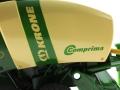 Siku 2460 - Rundballenpresse Krone Comprima V150XC Logo