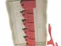 Siku 2462 - Kuhn Scheibenmäher Heckkombination links unten