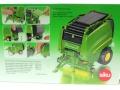 Siku 2465 - John Deere Ballenpresse 990 Karton hinten