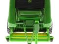 Siku 2465 - John Deere Ballenpresse 990 vorne