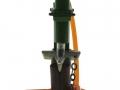 Siku 2468 - Holzspalter Hydro Combi 16t vorne