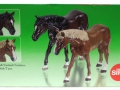 Siku 2491 - Zwei Pferde Karton hinten